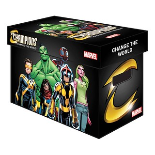 29871599865_70f0984c29_n The Champions initiate the all-new MARVEL GRAPHIC COMIC BOXES
