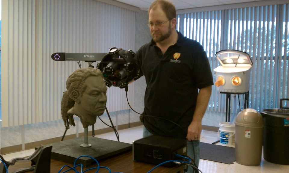 Scanning Wendall with the MetraSCAN