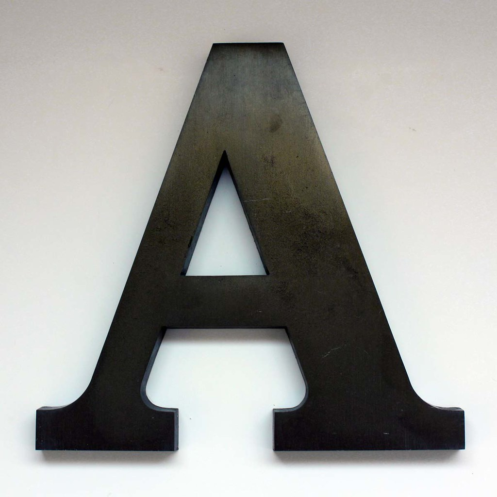 Letter A Large 2