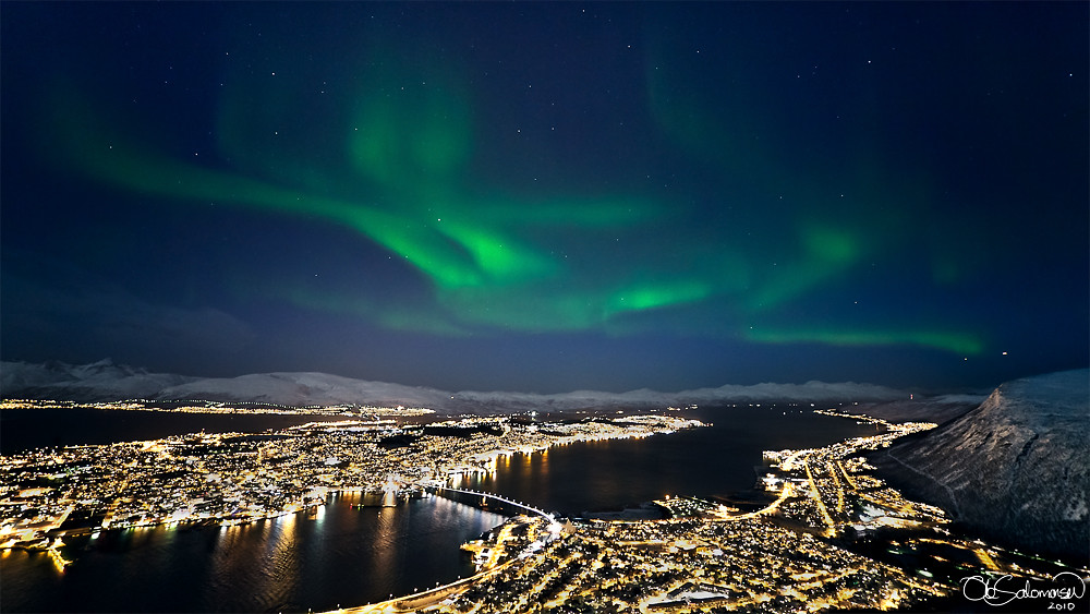 Hammerfest Norway Northern Lights