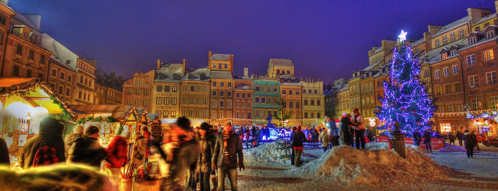 Warsaw Christmas Market HDR PANORAMA Rich Pick Flickr