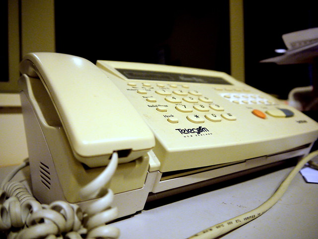Day Sixty Four - Fax Machine