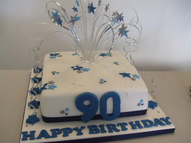 Men 90th Birthday Cakes