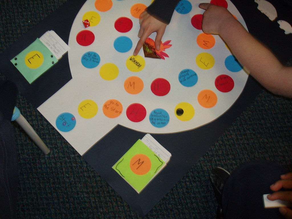 Board Games Created By Students