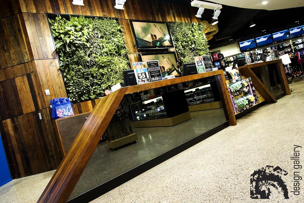 Rush Soul Counter Design Vertical Garden Counter