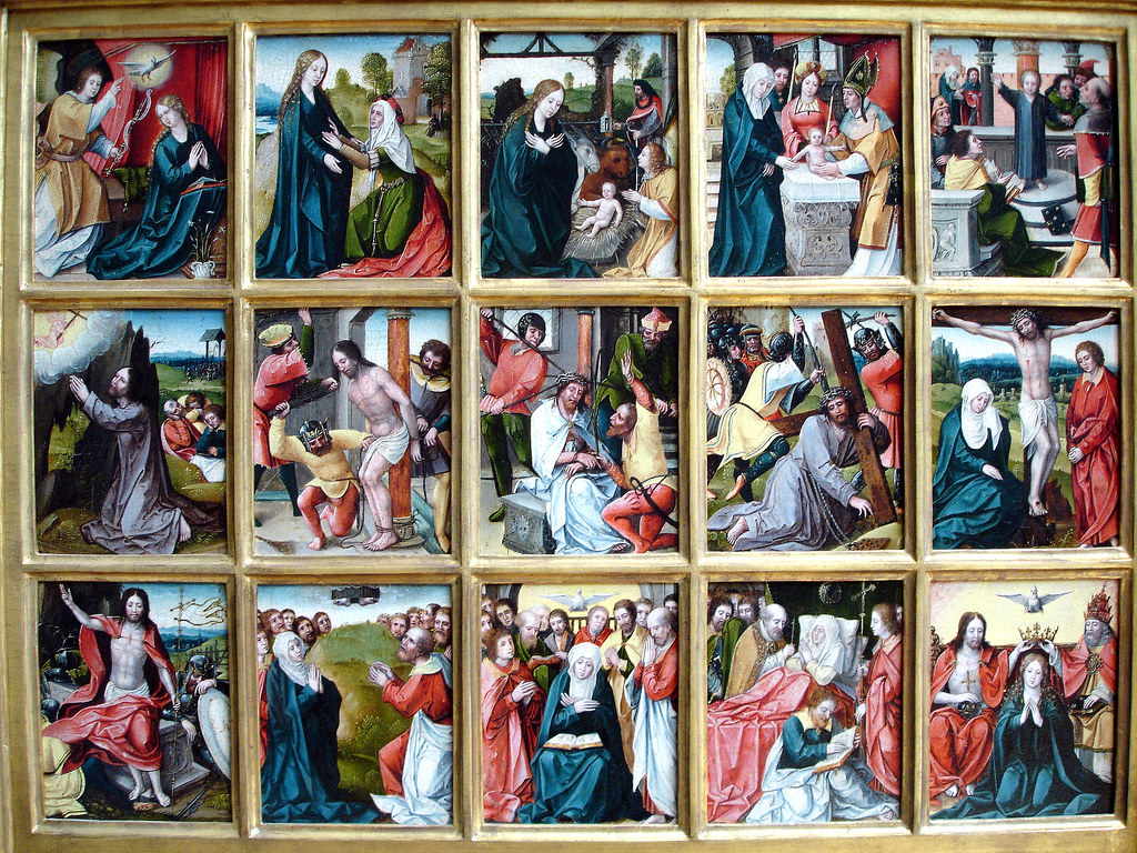 15 Mysteries Of The Holy Rosary