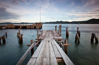 Old wharf, Samarai Island PNG | Samarai is in the China ...