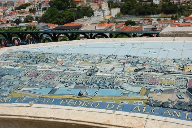 Miradouro de Sao Pedro de Alcantara | Two Free Days in Lisbon | No Apathy Allowed