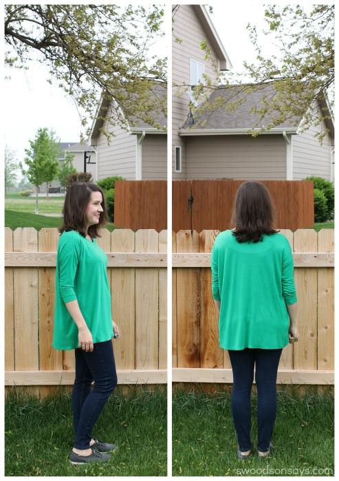 Green grainline hemlock
