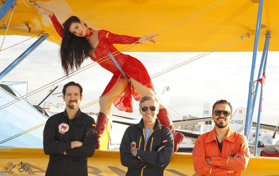 Equipo de Spain Wingwalker