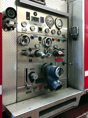 Fire engine pump panel | Flickr  Photo Sharing!