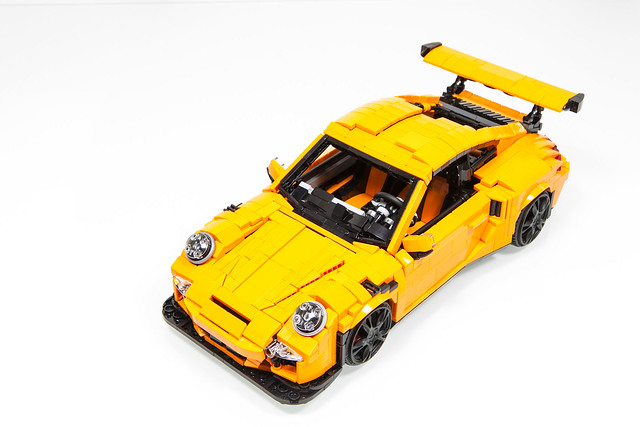 lego porsche 911 gt3 rs hellobricks. Black Bedroom Furniture Sets. Home Design Ideas