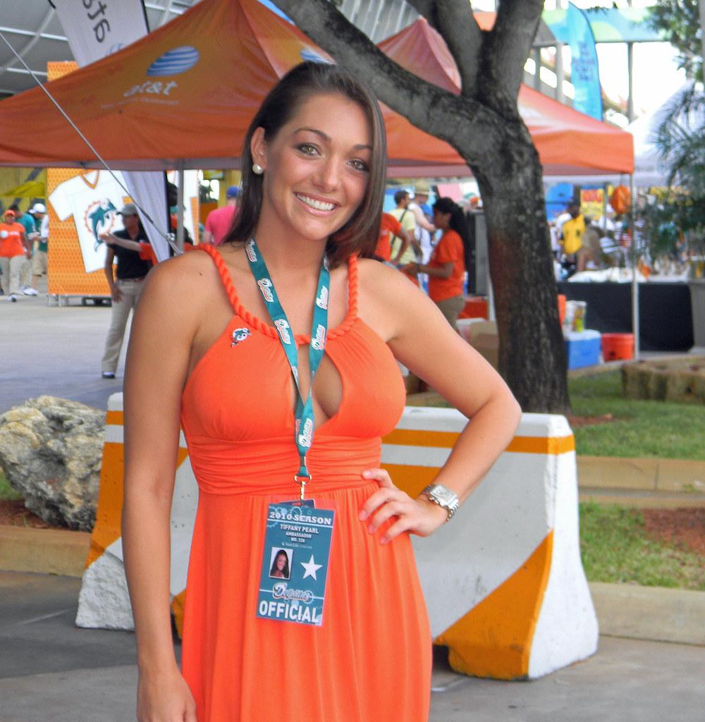 Tiffany Pearl Miami Dolphins And Orlando Magic 139