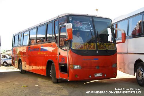 Bahía Azul - Algarrobo - Metalpar Lonquimay / Mercedes Benz (XR7465)