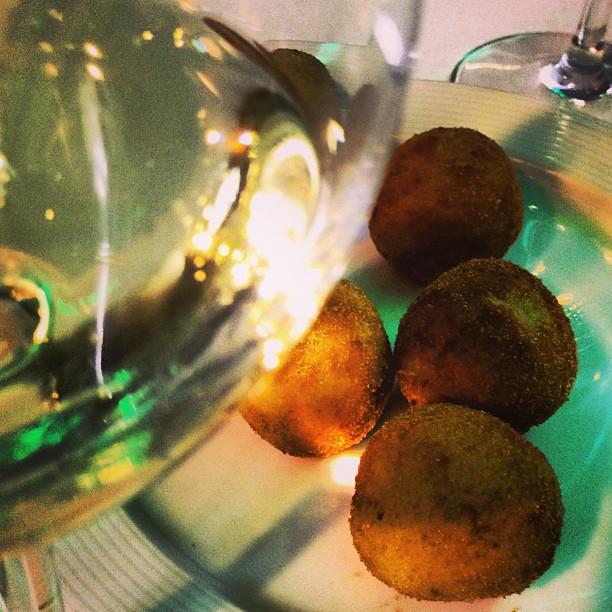 Croquetas de cocido madrileño. Chef koketo