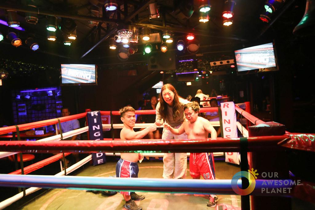 Midget boxing video