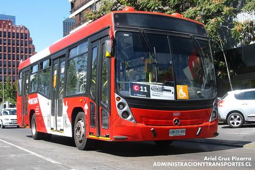 Transantiago - Redbus Urbano - Neobus Mega LE / Mercedes Benz (UW2686)
