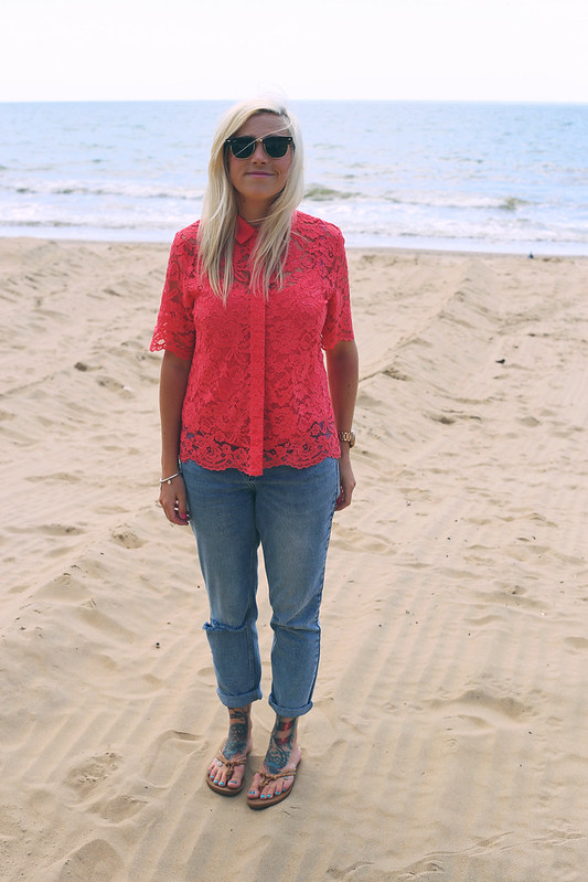 M&S blouse outfit post