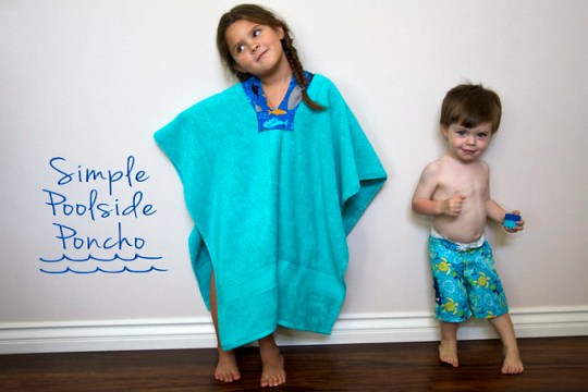 Simple Poolside Poncho
