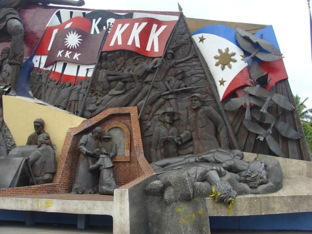 A monument mural for manila 39 s hero the urban roamer for Bonifacio mural painting
