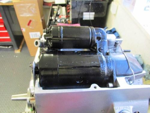 Installed Starter Motor