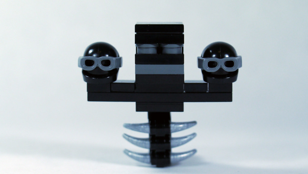 LEGO Minecraft Wither Minifig Scale See How To Build