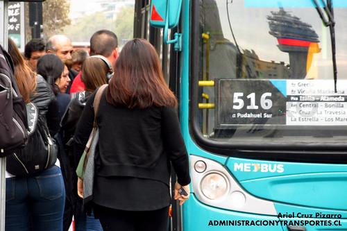 Transantiago - Metbus - Caio Mondego H / Mercedes Benz (FLXG28)