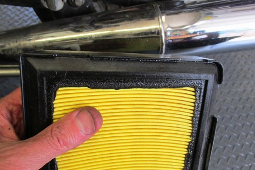Air Filter has Different Corners to Match Air Box