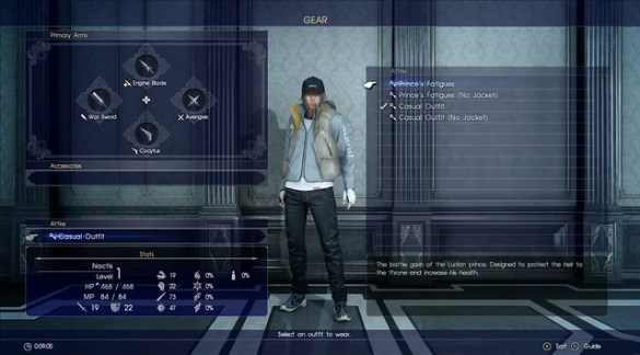 Final Fantasy XV - Customization