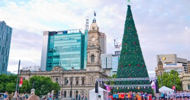 南澳自由行︱ Adelaide Christmas.夏日聖誕的繽紛燈光秀