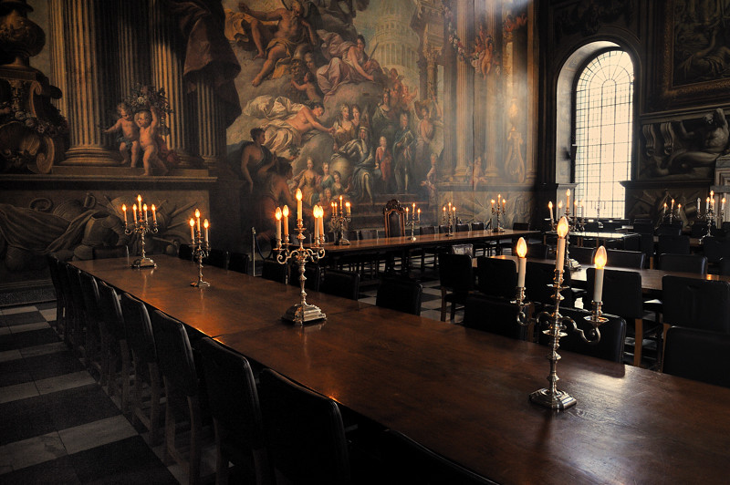 The Dinning Room The Painted Hall In The Old Royal Naval C Flickr
