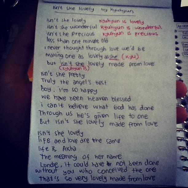 Lyrics Isn T She Lovely