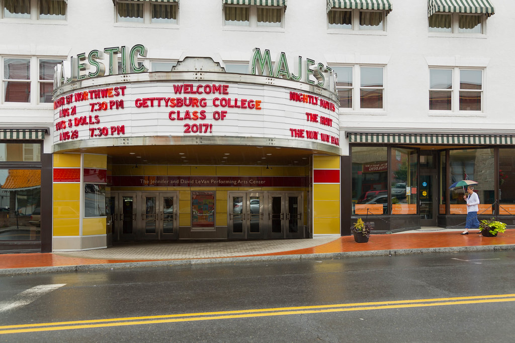 Majestic Theater, Gettysburg, PA, August, 2013
