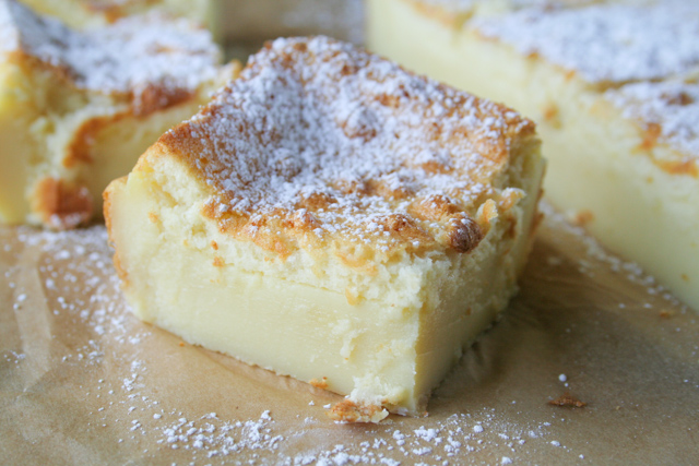 magic custard cake