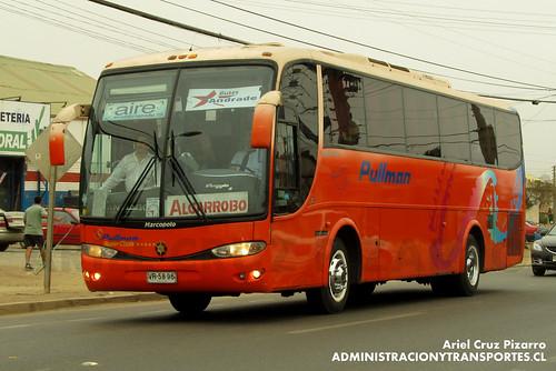 Buses Andrade - El Quisco - Marcopolo Viaggio 1050 / Mercedes Benz (VR5696)