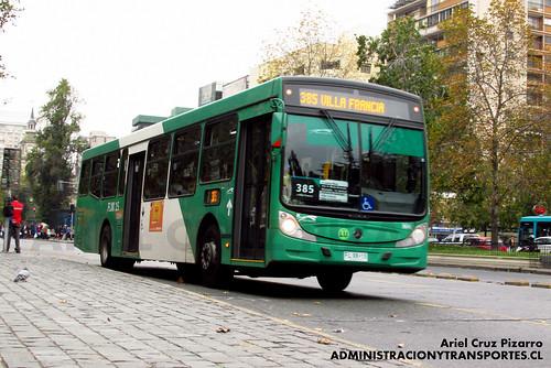 Transantiago - Buses Vule - Caio Mondego H / Mercedes Benz (FLXK15)