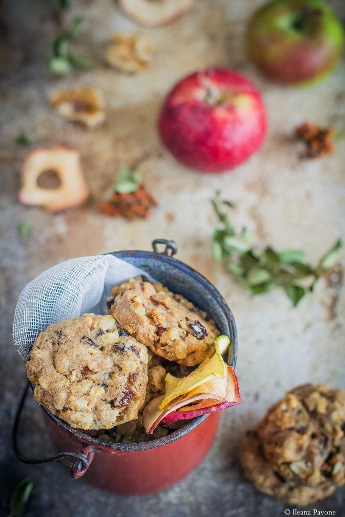 Biscotti alle mele senza zucchero_2