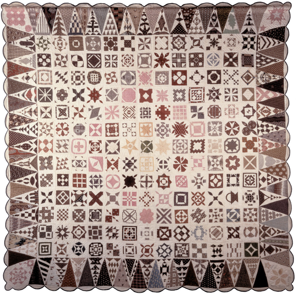 Original Civil War Quilt by Jane Stickle