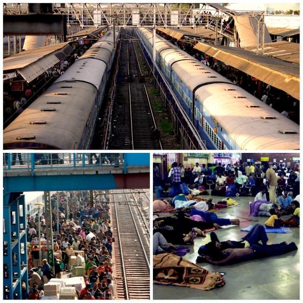 Estacion tren india