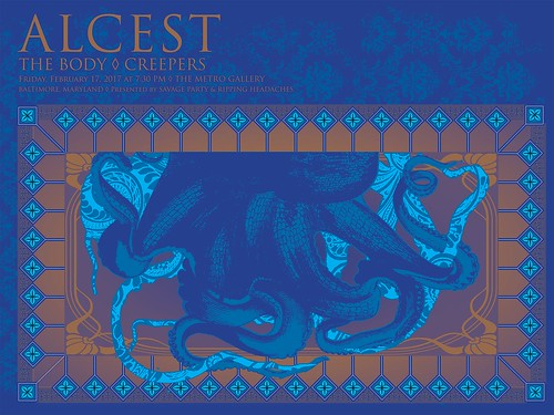 Alcest at Metro Gallery
