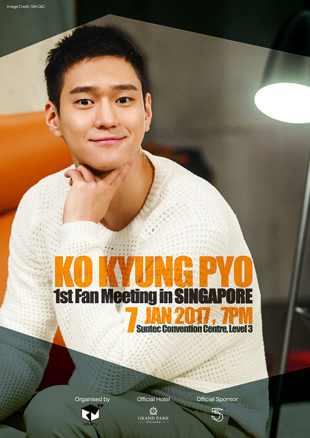 2017 Ko Kyung Pyo First Fan Meeting_SG