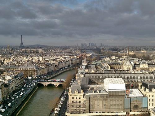 Patrimonio de la Humanidad en Europa y América del Norte. Francia. Riberas del Sena en París.