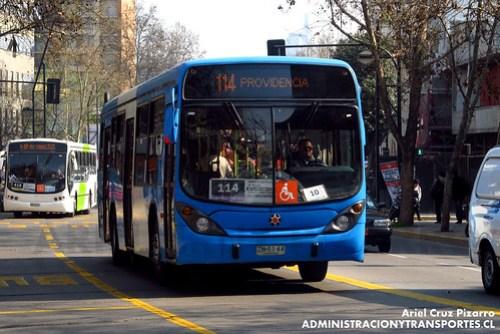 Transantiago - Inversiones Alsacia - Marcopolo Gran Viale / Volvo (ZN5144)