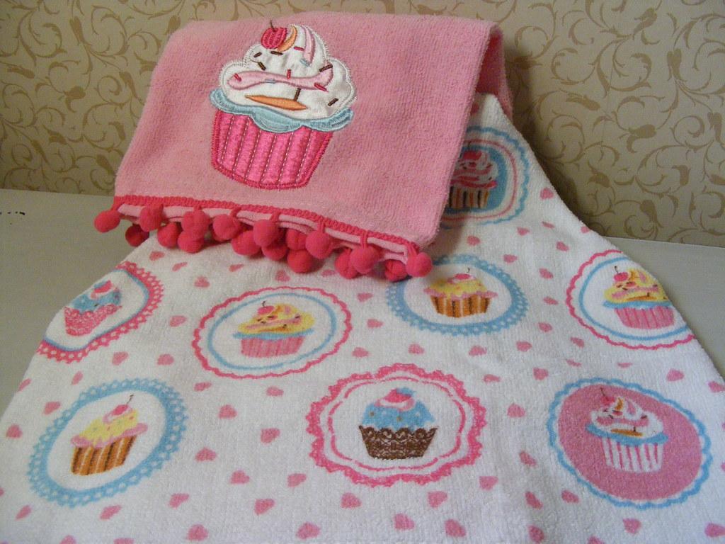 Cupcake Kitchen Tea Towels Primark Home Cupcake