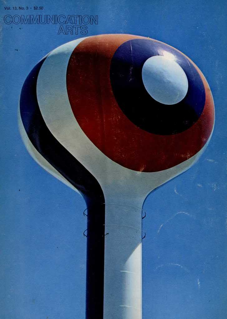 Original Cal Expo Water Tower Graphic 1968 Here S