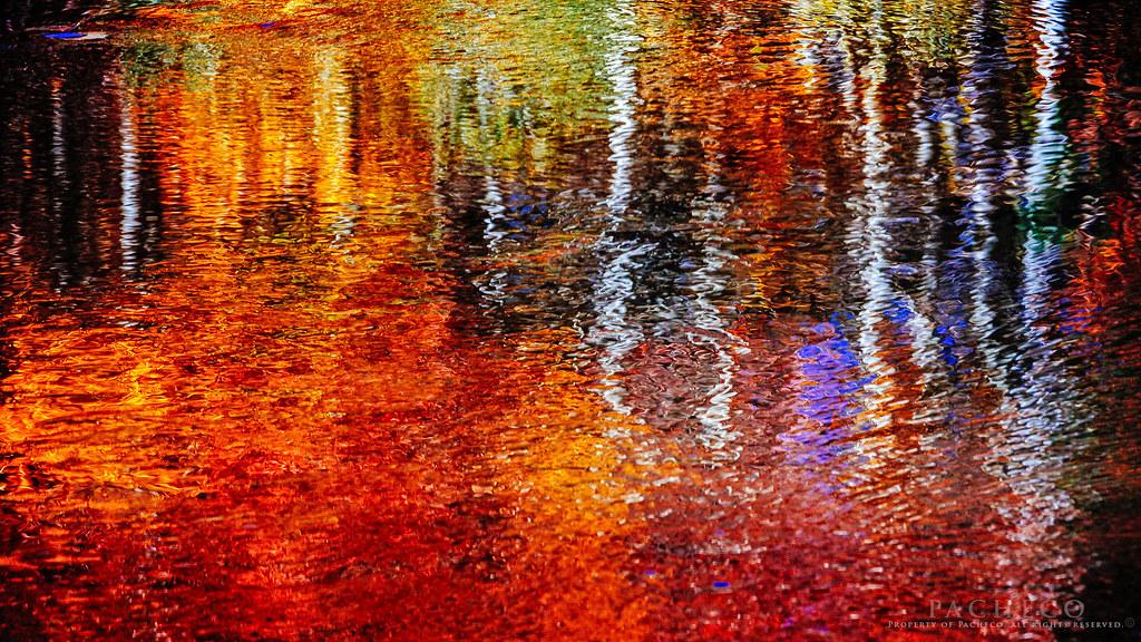 Sierra Monet Lake Sabrina In Autumn Always Remember
