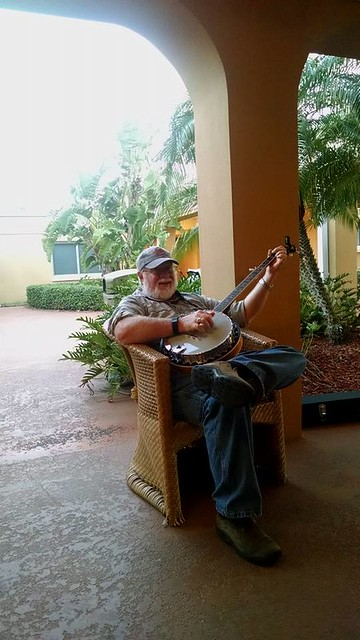Tom with Banjo