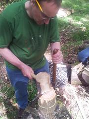 splitting rake tines