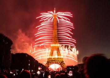 Bastille Day celebration in France