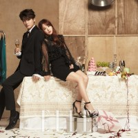 ELLE Throws a Party for Park Hyung Sik and Park Bo Young